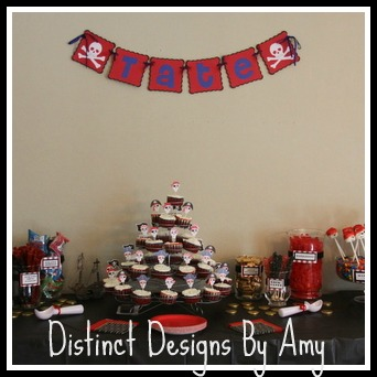Distinct Designs By Amy Pirate Themed Banner ⋆ Makobi Scribe