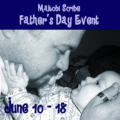 Fathers Day Giveaway Hop hosted by Makobi Scribe