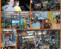 Nickelodeon Universe collage
