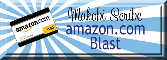 Makobi Scribe, Amazon, Amazon Gift Code Giveaway, That's What She Said Giveaways, Surf and Sunshine, Win Money