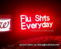 Funny Flu Shot Picture
