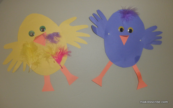 Easy Easter Craft For Kids Makobi Scribe