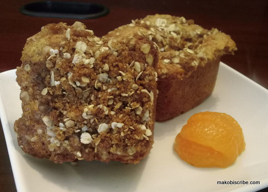 Mandarin Orange Oatmeal Muffins Recipe