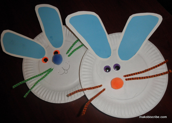 Easy Easter Craft To Do With Preschoolers And Toddlers Makobi Scribe