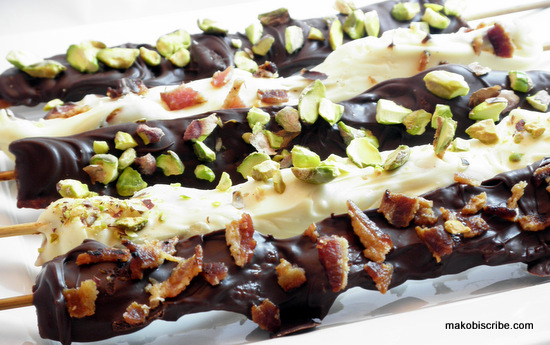 Chocolate Bacon Toppings