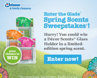 glade spring scents