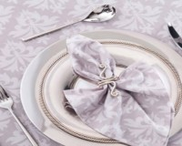 Napkin Table Setting