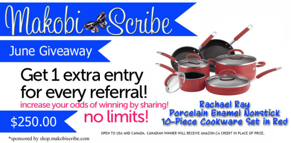 Rachael Ray Cookware Sweepstakes
