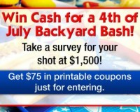 Win a 4th of July Backyard Bash