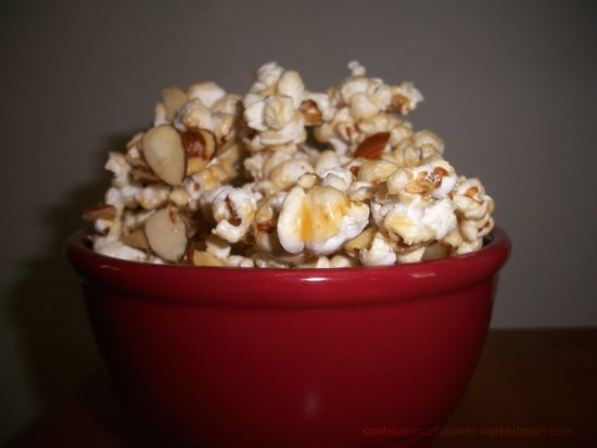 Vermont Maple Almond Popcorn
