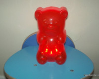 Red GummyGood Night Light