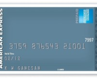 American Express Prepaid Card