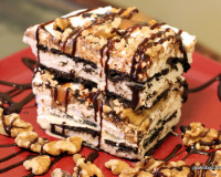 Turtle Ice Cream Cake Recipe
