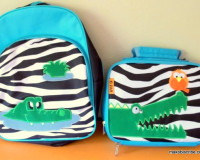 Backpack and Lunchbag