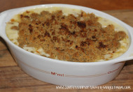 Baked 3 Cheese Macaroni and Cheese Recipe