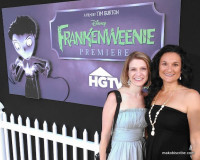 Tim Burton Frankenweenie Premiere Event