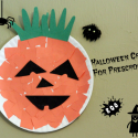 Paper Plate Pumpkins Halloween Preschool Craft