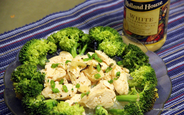 Infused Lemon Garlic Chicken With Broccoli