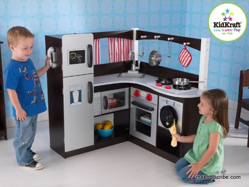 KidKraft Expresso Corner Kitchen, Kids Play Kitchen, Best Holiday Gifts For Kids