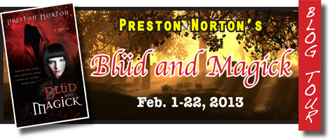 Blud and Magick blog tour banner
