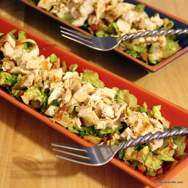 paleo diet southwestern chicken salad