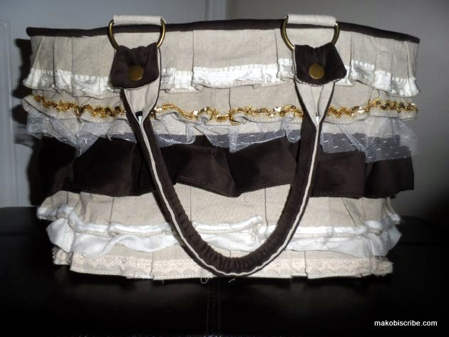 A Fashionable Handbag With Room