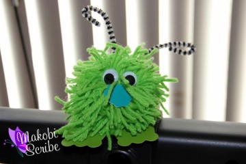 Easy pom pom Crafts for preschoolers