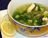 Paleo recipe chicken asparagus soup