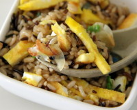 Breakfast rice recipe