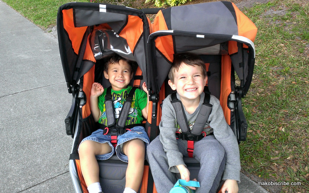 Two Kids? You Need A Side By Side Stroller From BOB #BOBMoms | Makobi Scribe