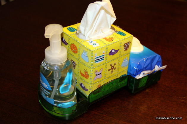 Help stop spreading germs at school