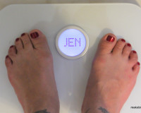 Aria FitBit Scale
