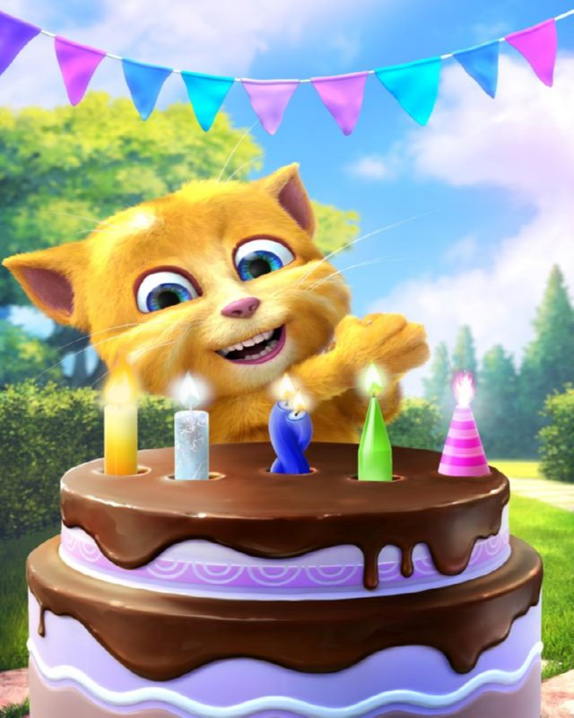 Talking #Gingers Birthday Is A New Fun App For Kids