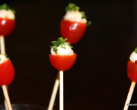 Tomato Cheese Lollipops