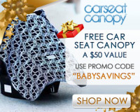 Free Carseat Canopy!