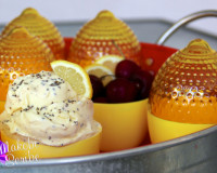 Lemon Chia Ice Cream Recipe