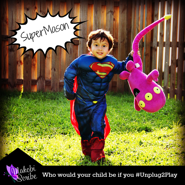 Who would your child be if you #Unplug2play #shop