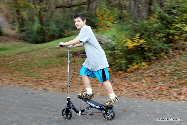 What Do Boys Want For Christmas? Rockboard Scooters!