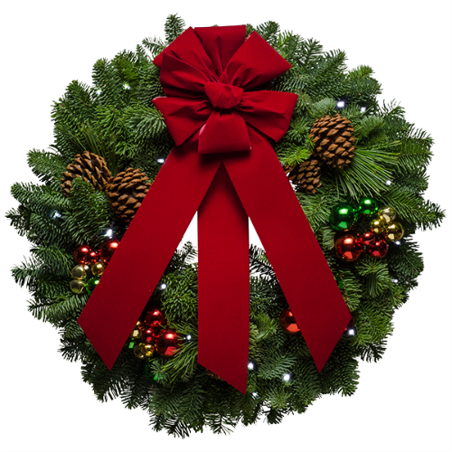 Holiday Decorating With Christmas Wreaths