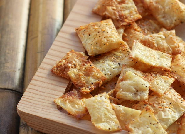 Parmesan Chips Recipe Appetizer