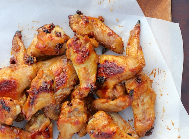 Sesame Pecan Chicken Wings