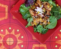 Slow Cooker Chicken Taco Salad (1)