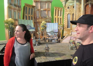 the boxtrolls mary on set