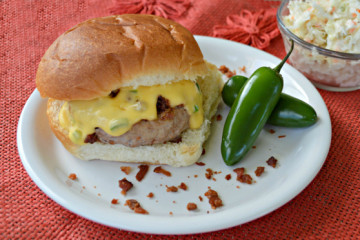 jalepeno bacon turkey burger recipe