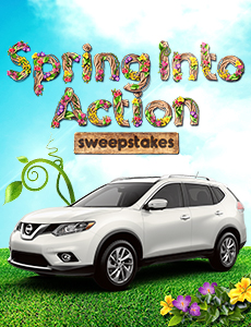 Spring Into Action Sweepstakes