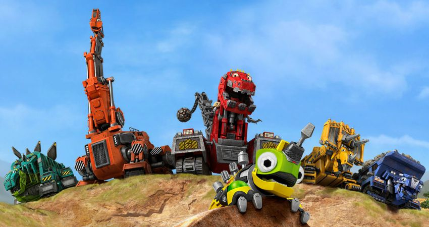 Building a better back to school with dinotrux streamteam makobi