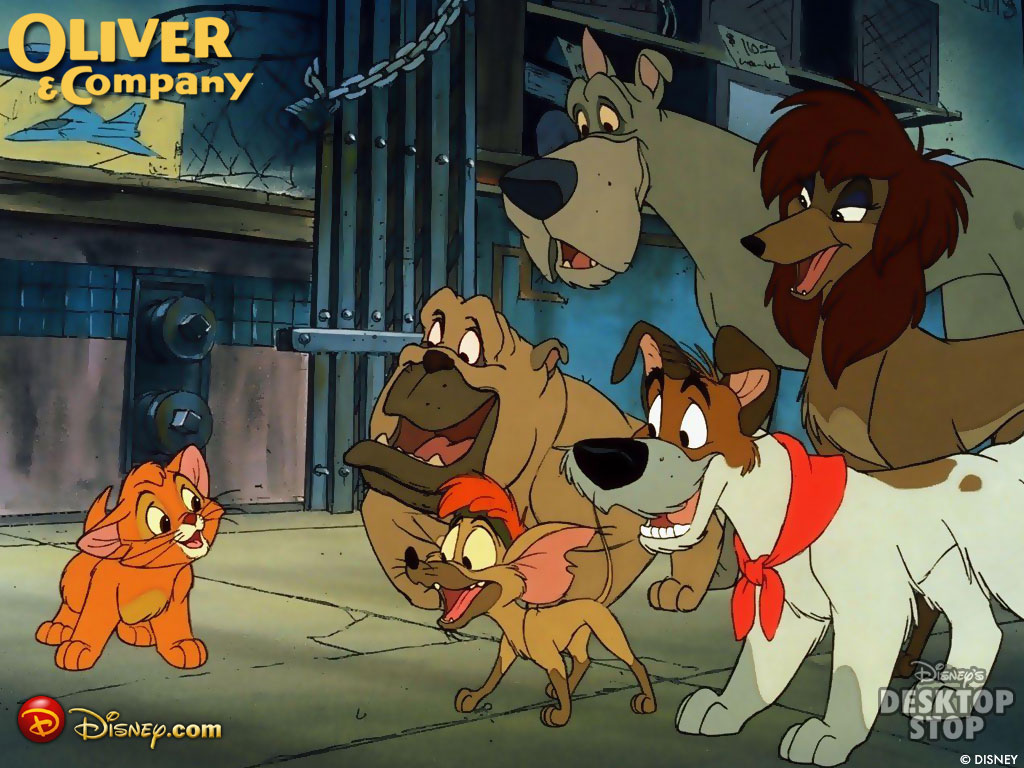Disney S Oliver And Company On Blu Ray ⋆ Makobi Scribe